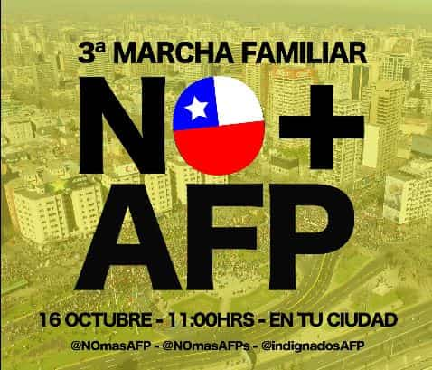 NO MAS AFP EN CHILE